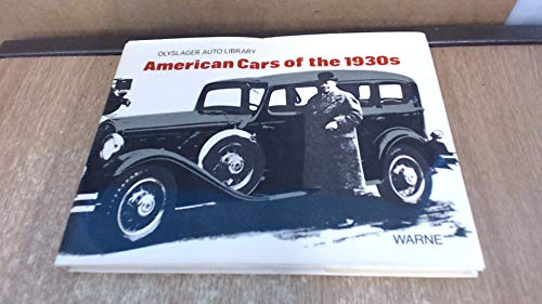 9780723212669: American Cars of the 1930S (Olyslager Auto Library)