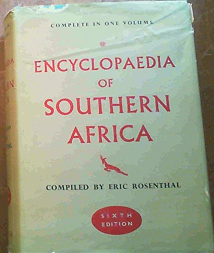 9780723214878: Encyclopaedia of Southern Africa