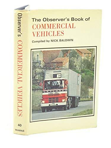 9780723215356: Observer's Book of Commercial Vehicles (Observer's Pocket)