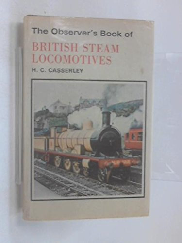 9780723215394: The Observer's Book of British Steam Locomotives (The Observer's pocket series)