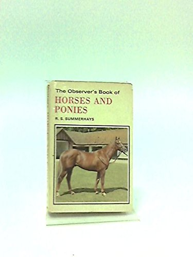 9780723215738: Observer's Book of Horses and Ponies (Observer's Pocket)