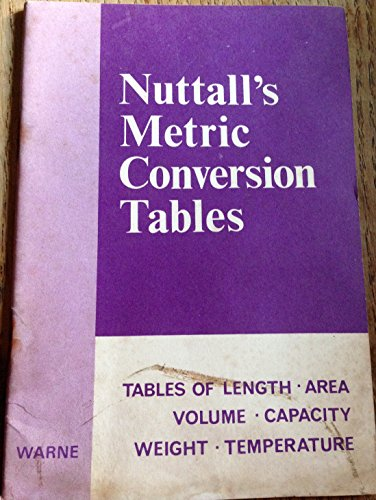 Nuttall's Metric Conversion Tables: Perrin, Helen