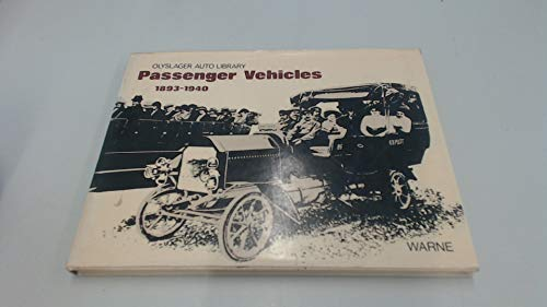 Passenger Vehicles 1893-1940