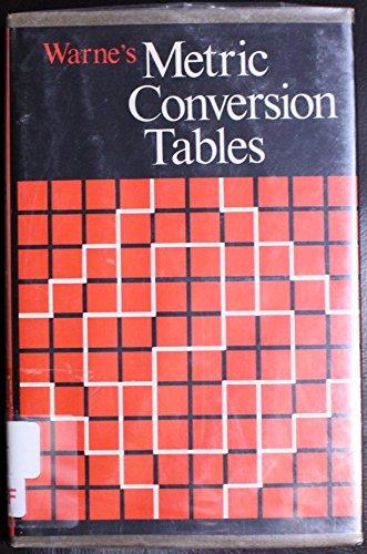 Metric Conversion Tables: Perrin, Helen