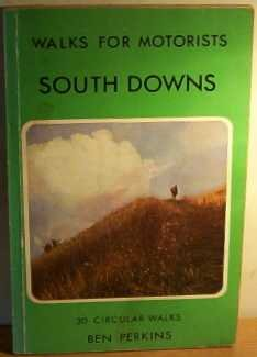 9780723221463: South Downs Walks For Motorists(25) (Warne Gerrard guides for walkers)
