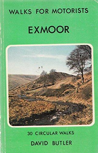 9780723221487: Exmoor (Warne Gerrard Guides for Walkers)
