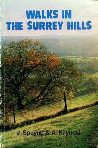 9780723230755: Walks in the Surrey Hills