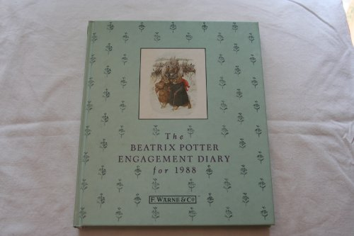 9780723234449: Beatrix Potter Engagement Diary 1988: With Extracts from `The Journal of Beatrix Potter, 1881-1897'