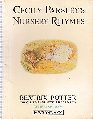 9780723235071: Cecily Parsley's Nursery Rhymes (Potter Original)
