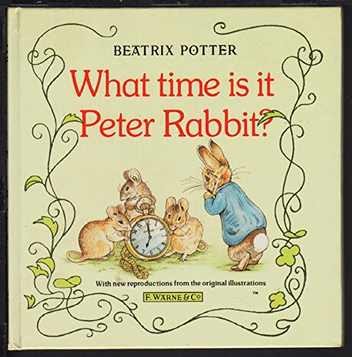 9780723235866: What Time is it Peter Rabbit?