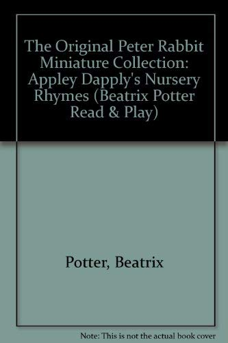 9780723236108: The Original Peter Rabbit Miniature Collection: Appley Dapply's Nursery Rhymes (Beatrix Potter Read & Play)