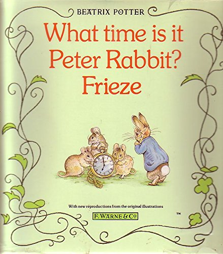 9780723236245: What Time is it Peter Rabbit?: Frieze (Wall Hanging)