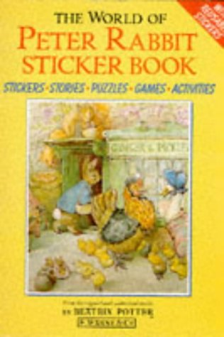 The World of Peter Rabbit Sticker Book (0723236453) by Beatrix Potter