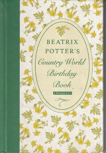 Beatrix Potter's Country World Birthday Book: Potter, Beatrix