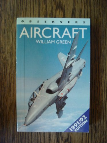 9780723236979: New Observers Book Of Aircraft 1991-1992 (Observer's Pocket)