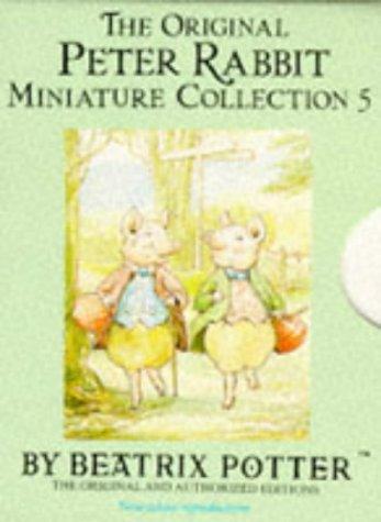 9780723239864: The Original Peter Rabbit Miniature Collection (Mini-pack, Potter) (No. 5)
