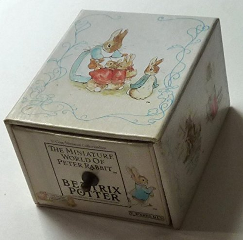 9780723239888: The Miniature World of Peter Rabbit: 12-Copy Miniature Collection Box (The World of Beatrix Potter)