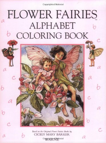 9780723241171: The Flower Fairies Alphabet Coloring Book
