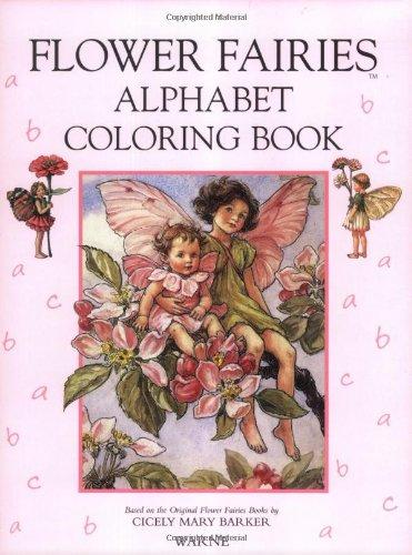 9780723241171: The Flower Fairies Alphabet Coloring Book