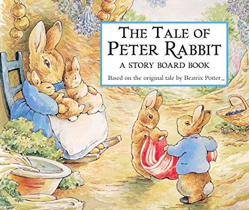 9780723244325: The Tale of Peter Rabbit Story Board Book