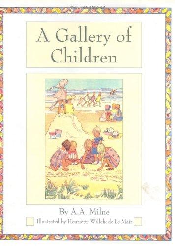 9780723246664: A Gallery of Children (Golden Days Nursery Rhymes)