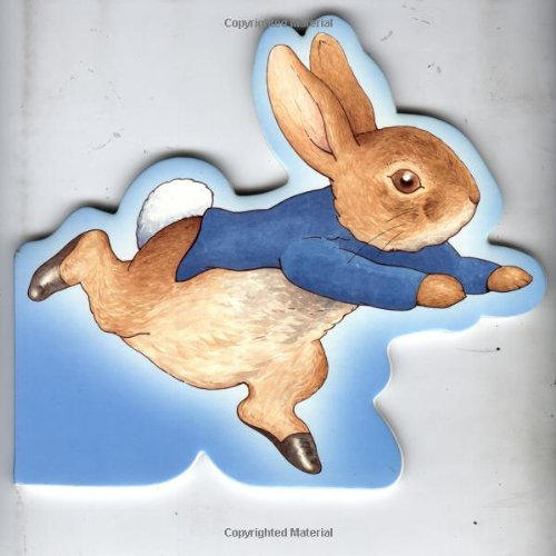 9780723246824: Peter Rabbit Giant Shaped Board Book (Beatrix Potter novelties)