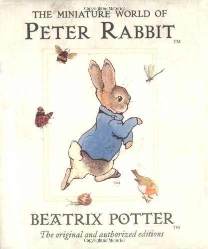 9780723247944: The Miniature World of Peter Rabbit (Miniature Peter Rabbit Library)