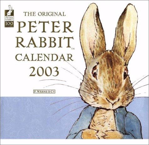 9780723248095: Original Peter Rabbit 2003 Calendar