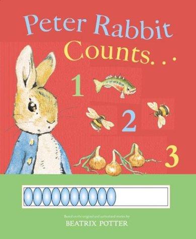 9780723249542: Peter Rabbit Counts 1 2 3