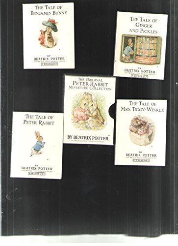 9780723250227: The Original Peter Rabbit Miniature Collection (Mini-pack, Potter) (No. 1)