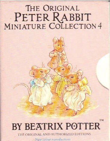 9780723250760: The Original Peter Rabbit Miniature Collection (Mini-pack, Potter) (No. 4) by Beatrix Potter (1989-05-03)