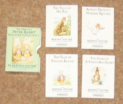 9780723250784: The Original Peter Rabbit Miniature Collection (Mini-pack, Potter) (No. 5)