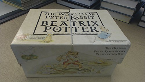 9780723251620: The World of Peter Rabbit, The Original Peter Rabbit: Books Presentation Box (The Original and Authorized Editions No. 1-23, New Editions from the Original Watercolours)