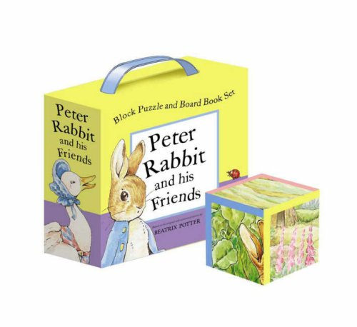 9780723253532: Peter Rabbit and His Friends A Block Puzzle and Board Book Set