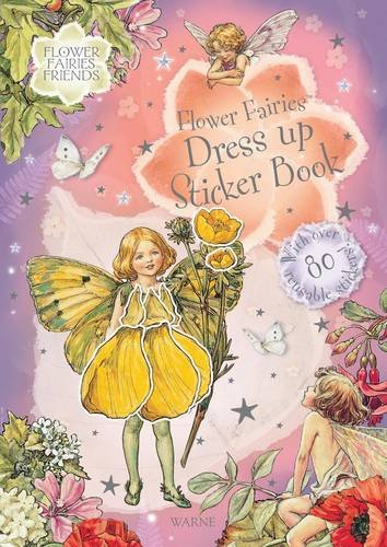 Flower Fairies Dress up Sticker Book: Barker, Cicely Mary