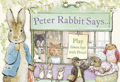 9780723258896: Peter Rabbit Says
