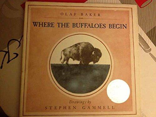 9780723261957: Where the Buffaloes Begin