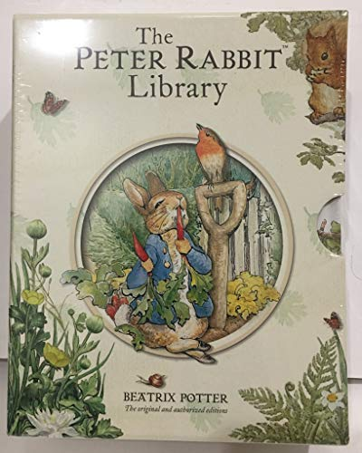 9780723264613: Beatrix Potter Peter Rabbit Library 10 Books Box Collection Set (The Tale Of Peter)