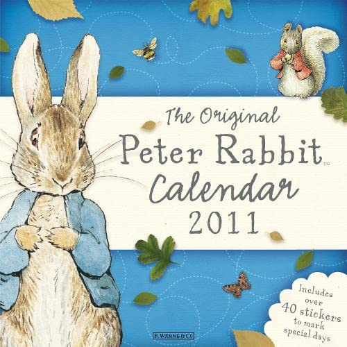 9780723264835: The Original Peter Rabbit Calendar 2011
