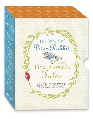 9780723268055: The World of Peter Rabbit Five Favourite Tales from Beatrix Potter