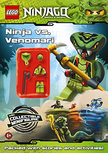 9780723270485: LEGO Ninjago: Ninja vs Venomari Activity Book with minifigure