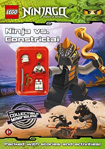 9780723270492: LEGO Ninjago: Ninja vs Constrictai Activity Book with minifigure