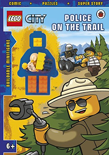 9780723270508: LEGO CITY: Police on the Trail Activity Book with minifigure