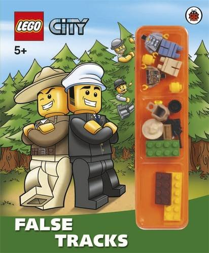 9780723270812: LEGO City: False Tracks Storybook with Minifigures and Accessories