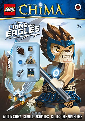 9780723271239: LEGO Legends of Chima: Lions and Eagles Activity Book with Minifigure
