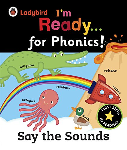 9780723271598: Ladybird I'm Ready for Phonics Say the Sound