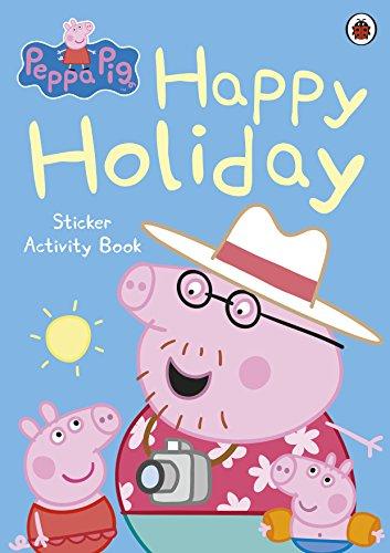 9780723271680: Peppa Pig: Happy Holiday Sticker Activity Book