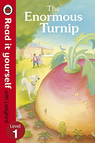 9780723272786: Read It Yourself the Enormous Turnip (Read It Yourself with Ladybird. Level 1. Book Band 4)