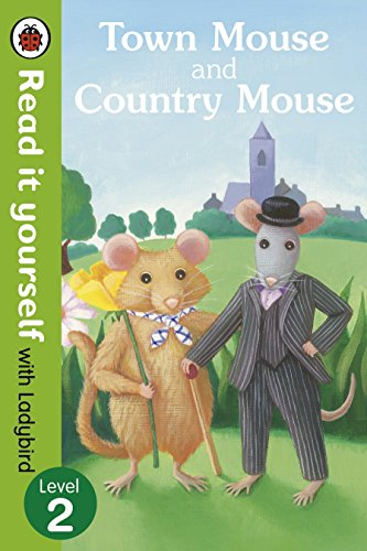 9780723272830: Town Mouse and Country Mouse - Read It Yourself With Ladybird