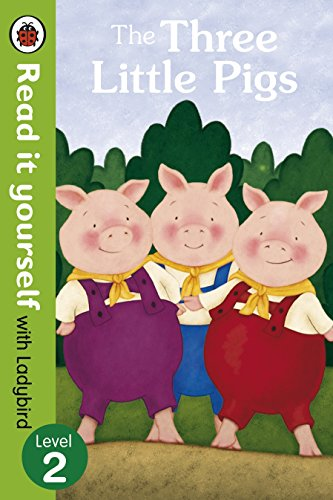 9780723272953: Three Little Pigs -Read It Yourself With Ladybird, the